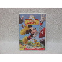 Dvd A Casa De Mickey Mouse- A Grande Caçada À Casa Do Mickey