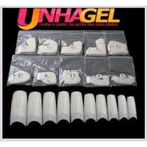 Unha Postiça Para Acrigel Acrilico Gel Nail Tips 500 Peças