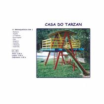 Casa Do Tarzan Com 11 Brinquedos 2,80x2,00 M