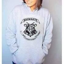 Blusa Hogwarts Harry Potter Moletom Canguru Com Capuz