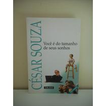 Livro Você É Do Tamanho Dos Seus Sonhos - César Souza