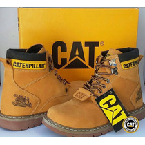 Bota Caterpillar Original Mostarda Modelo Second Shift Boot