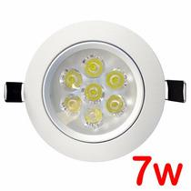 Lampada Spot 7w Super Led Branco Luz Fria P Teto Sanca Gesso