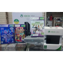 Xbox 360 500gb Fifa Gta 5 30 Jogos Kinect Brinde *