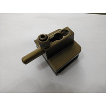 Trinco Inferior Janela Ou Porta Vidro Temperado 1335 Bronze