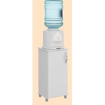 Balcão Pequeno Bebedouro Galão De Água - 1 Porta - Branco