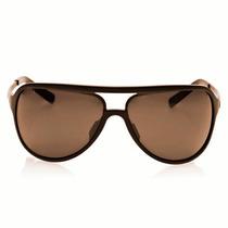 Óculos Triton Pla158 - Aluminum Marrom C/ Preto - Uva/uvb