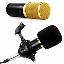Microfone Profissional Excelente Captação De Áudio Bm800
