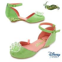 Disney Store Tinker Bell Sininho Sapatilha Sapatinho 27/28