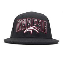 Boné Maresia Aba Reta Headwear Black Red