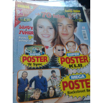 Revista Astros E Idolos Sandy E Junior