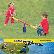 Gangorra Giratória Reforçada Brinquedo P/ 2 Crianças Balancé