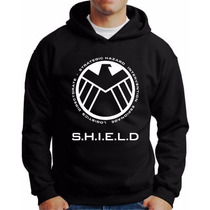 Blusa Moletom Shild S.h.i.e.l.d.blusa Agents Of Shield
