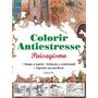 Livro Para Colorir Paisagismo - Antiestresse