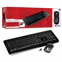 Kit Teclado E Mouse Wireless Microsoft Desktop 800