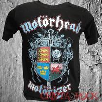 Camiseta Banda Rock Camisa Motörhead Heavy Metal