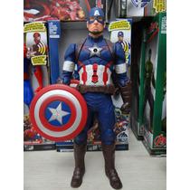 Boneco Capitão América Grande 30cm
