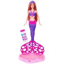 Boneca Barbie - Sereia - Bolhas Mágicas - Mattel