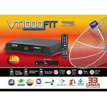Receptor Parabolica Visiontec Vt1000 Fit Bi-volt Analogico