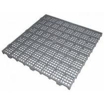 Tapete Plástico Estrado Multiusos 50x50x05cm Cinza