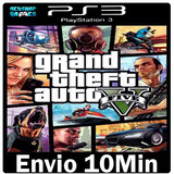 Gta 5 Ps3 Cod Psn Grand Theft Auto V Português Envio Rápido