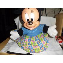 Minie Pelucia Multibrink Usada 30 Cm Disney Baby