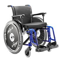 Cadeira De Rodas Dobrável - Modelo Àgile - Pneu Inflavel