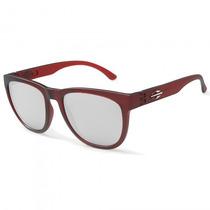 Óculos Sol Mormaii Santa Cruz M0030c1280 Vermelho - Refinado