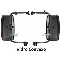 Kit Espelho Retrovisor Caminhao Vw 8.120 8.140 8.150 Convexo