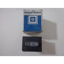 Botão Interruptor Limpador Vidro Traseiro S10 Blazer 96 00