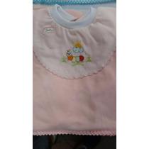 Conj Pagão 3pçs - Bebê (várias Cores) 0 A 3 Meses