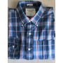 Camisa Casual Social Xadrez Masculina Abercrombie & Fitch