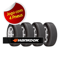 Kit 4 Pneu Aro 14 Hankook 185/60r14 Optimo Me02 K424 82h