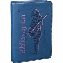 Bíblia Sagrada Pequena Edição Com Notas Para Jovens Menina