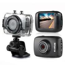 Camera Filmadora Prova D` Água F5 Hd 720p 1.3mp Tela 2.0