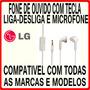 Fone De Ouvido Todos Smartphones,iphones,mp3,ipod,cd Player