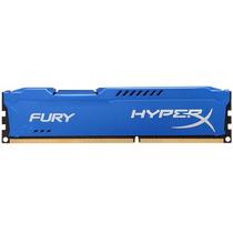 Memória Gamer 8gb Ddr3 1600mhz Kingston Hyperx Fury Blue