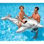 Boia Bote Golfinho Inflável Intex Brinquedo Piscina Praia Ri