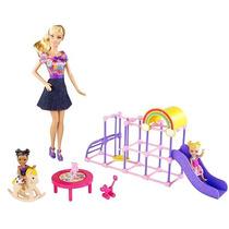 Boneca Barbie Quero Ser Professora De Jardim De Infância