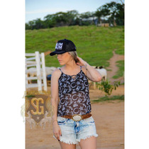 Blusa Country Feminina Estampa Exclusiva Selaria Guiricema