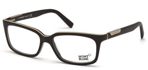 2bc3ad85dbacf Armação Óculos Mont Blanc Original C estojo E Frete Grátis. R  1100