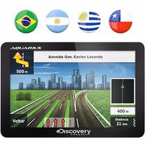 Gps Aquarius Discovery 4,3 Slim Touch Screen Lacrado Leilao