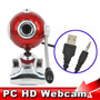 Pack 3 Webcam 7 Mega Pixel Com Microfone Windows 7 E 8 E 10