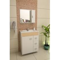 Gabinete / Armário Banheiro Arezzo 65