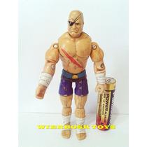 Boneco Gi Joe Street Fighter Sagat Hasbro 1993 10 Cm