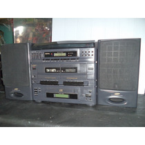 Toca Disco 3 Em 1 Samsung Scm-6550 Funciona Disco Fita Radio
