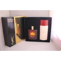 Gift Set Opium Feminino Yves Saint Laurent 2 Pcs