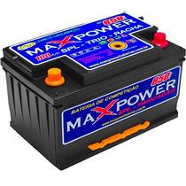 Bateria Maxpower 100ah Lacrada Estacionária Som Automotivo