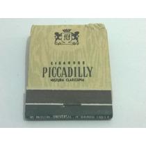 Caixa De Fósforo Cigarros Piccadily - Lt0005