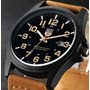 Relógio Masculino Homens Negócios Resistente Água Luxo Moda